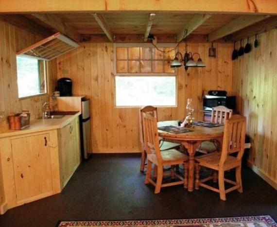 two story tiny house interior