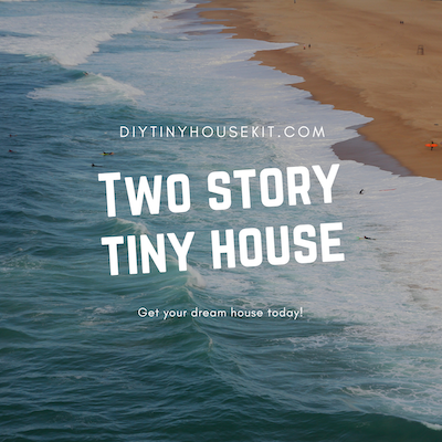 two story tiny house